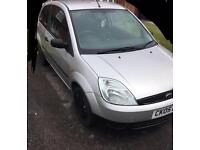 Ford Fiesta 55 plate. 1.2. Low mileage