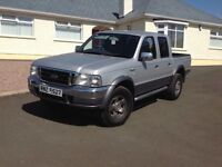 2006 Ford Ranger 2.5 TDdi XLT +++ o vat +++ Double Cab Crewcab Pick up 4x4 4dr