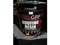 Roofing resin