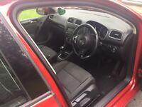 CAR FOR SALE- **£4300 Ono * Volkswagen Golf red. Millege-130485 MOT TILL DECEMBER 2017