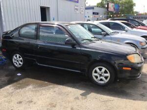 2004 Hyundai Accent GSi