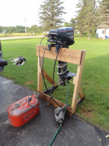 15 hp Evinrude Long Shaft with Controls