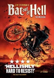 Two tickets to Bat out of Hell. Excellent seats