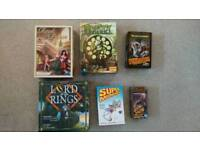 Lot of 6 Board Games