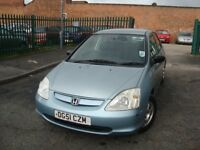 Honda Civic 1.4 i Max Limited Edition Hatchback 5dr LONG MOT-1 KEEPER