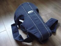 Older style Baby Bjorn carrier