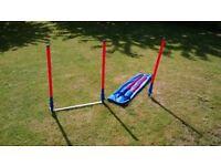 Dog Agility Slalom/Weaving poles