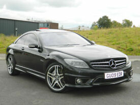 2009 09 REG MERCEDES-BENZ CL 63 AMG 6.2 CL63 7G-TRONIC AMG + SUNROOF + H.SPEC!