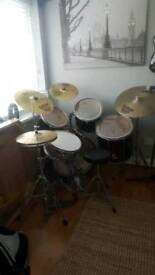 Pearl export series full drum kit