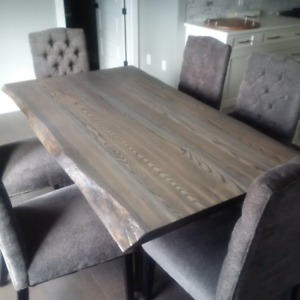 Beautiful Live Edge Tables - INVENTORY SALE!