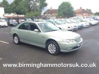 2001 (51 Reg) Rover 75 2.0 CLUB 4DR Saloon GREEN + LOW MILES
