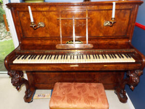 Gorgeous Antique Piano