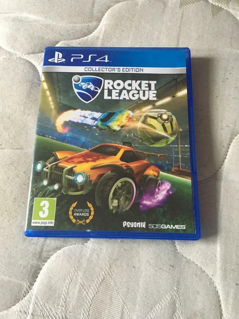 Rocket league for ps4 open to offers