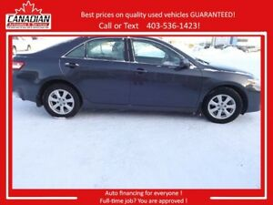 2011 Toyota Camry LE LOW KMS REDUCED $1000 STAMPEDE SALE!