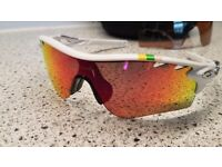 Oakley RadarLock Path Vented Tour De France Edition Red Iridium Polarized + spare vr28