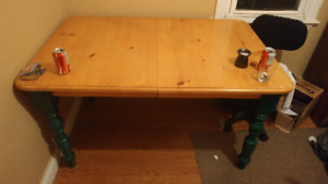 Hard wood kitchen table