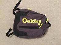 Oakley B1B Backpack / Rucksack - grey &a yellow