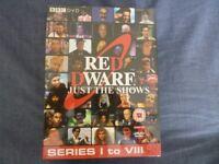 Red Dwarf DVD set