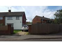 3 bed semi detached corner plot house Camberley