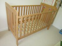 Lovely John Lewis 'Abbie' cot bed for sale