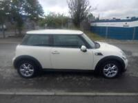 "MINI HATCHBACK 1.6 ONE D [PEPPER PACK] 2013 ""13"" REG 95,000 MILES F.S.H. WHITE"