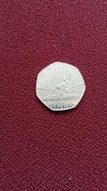 Rare 50p