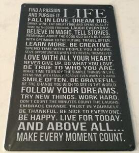 Enseigne ''Life''