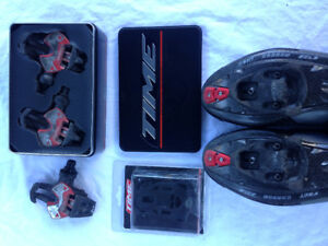 TIME Xpresso Pedals and Cleats with Spares