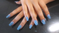 Pose d ongle