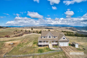 Custom Built Home on 80 Sprawling Acres with 360 Degree Views