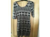 Geometrical Print Dress Size 10-12