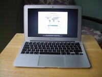 Macbook Air 2010 - 2011 apple mac laptop 128gb SSD hd in full working order