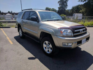 2004 Toyota 4Runner SR5 New tires and Lift kit
