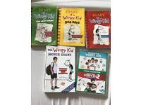Diary of a wimpy kid books+dvd