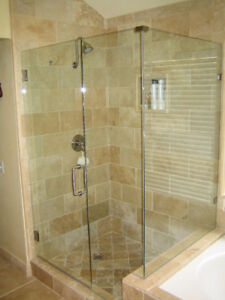 TEMPERED SHOWER GLASS & DOORS