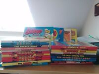 24 Beano, Dandy, etc annuals