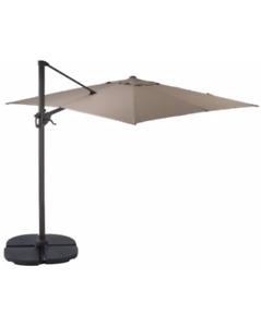 Offset Patio Umbrella, 10 x 10-ft