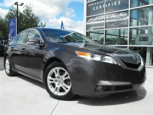 2010 Acura TL Technology Package, Navigation, toit ouvrant, blu
