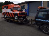Breakdown Recovery HGV Hiab Car Van 4x4 Motorbike Motorcycle Trike Quad Truck Accident Lockout