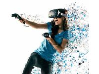HTC Vive Virtual reality Boxed Complete, Best VR experience available.