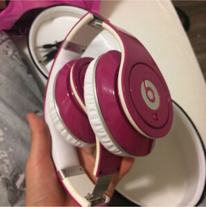 MINT DR DRE BEATS HEADPHONES PINK