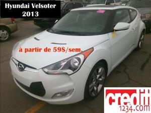 2013 Hyundai Veloster, à partir de 59$/sem.100% approuvé !!!