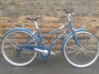 """NEW Dawes Mixte 2017 Womens Ladies Traditional 17"""" Light Weight Hybrid Bike - RRP £379.99"""