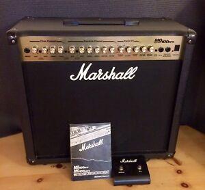 Marshall MG100DFX w/ Pedal