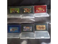 Nintendo gameboy advance carts