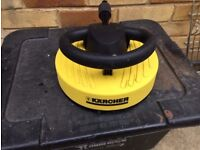 Karcher T Racer Pressure Washer patio cleaner