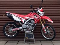 Honda CRF 250L 2015. Only 3866 miles. Delivery Available *Credit & Debit Cards Accepted*