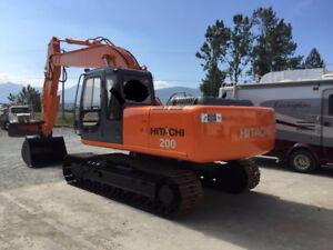 Hitachi Ex200-5 Excavator for sale.