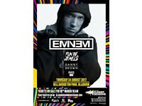 2 Eminem tickets for Bellahouston Park