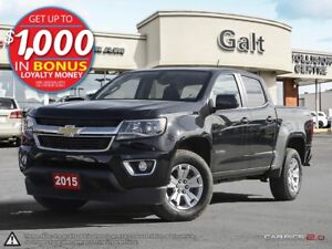 2015 Chevrolet Colorado LT | CREW CAB | ONLY $226 BI-WEEKLY*
